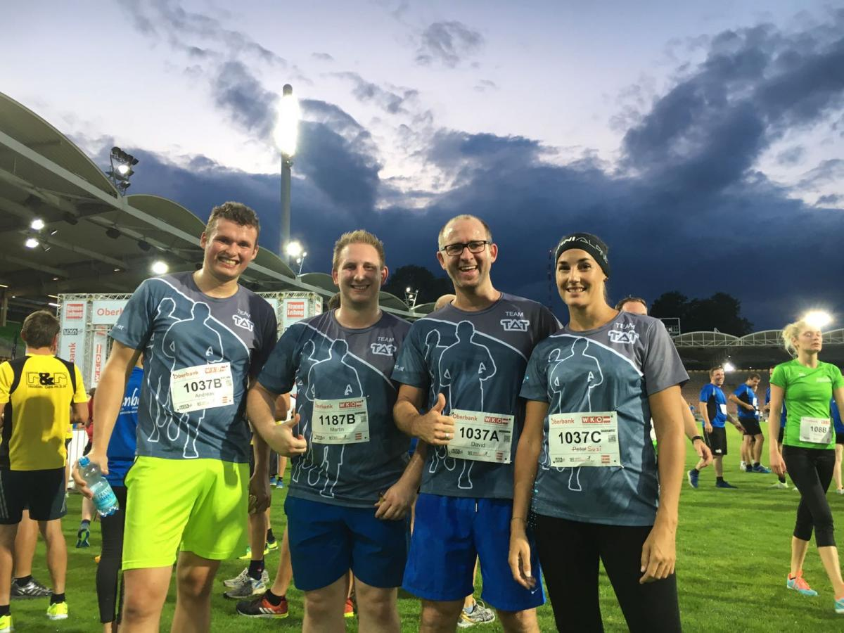 Businesslauf 2017 - TAT-Team